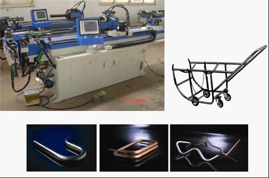 3D CNC Tube Bending Machine (GM-38CNC-2A-1S)