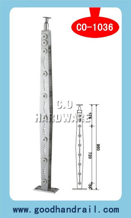 Balustrade Parts (CO-1036) /Handrail Post/Pipe Fittings/Stair