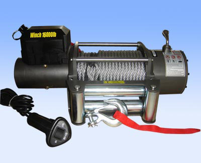 4WD Winch 16000lbs High Performance CE