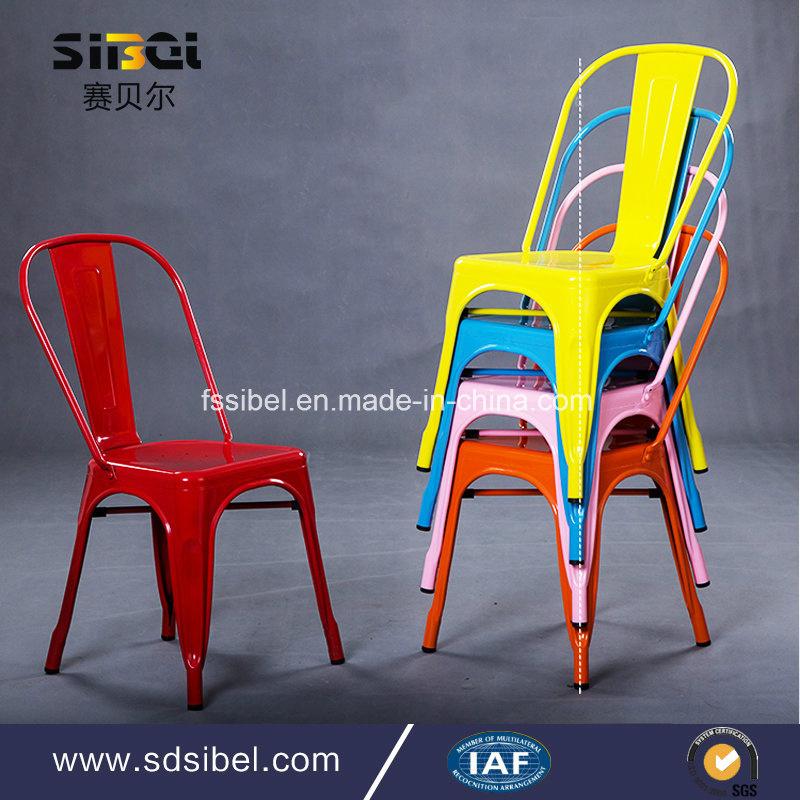 2017 Factory Wholesesale Vintage Industrial Rustic Furniture Industral Metal Chair