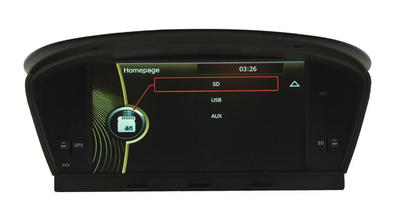 Car DVD Player for BMW M5 BMW 5 Series E60 E61 E63 E64 GPS Navigation (HL-8808GB)