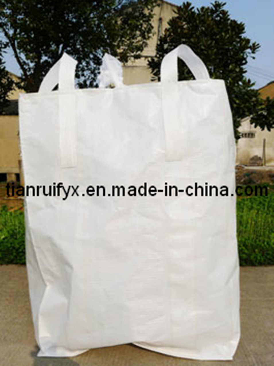 1000kg PP Big Bag for Cement, Sand, Chemical (KR027)