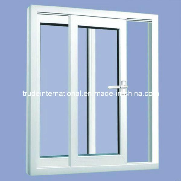 PVC Sliding/Casement Single/Double Tempered Glass Window