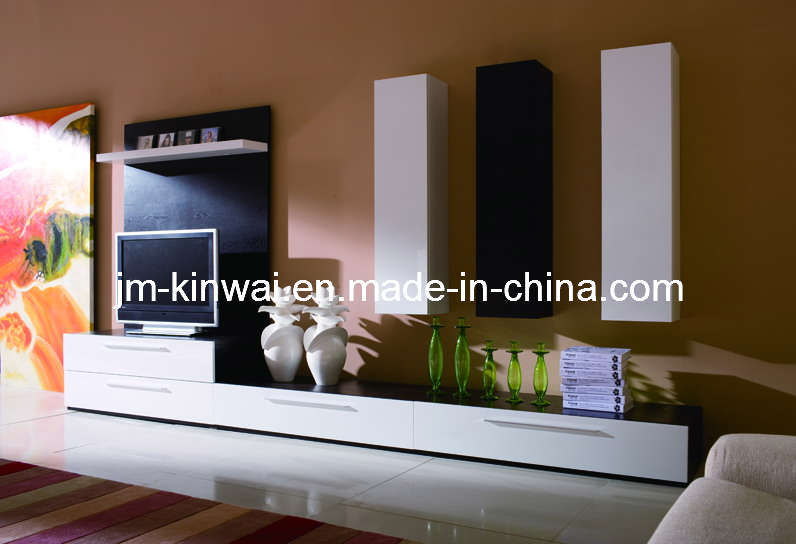 China White High Gloss Tv Unit Living Room Furniture 1 China Tv Stand Wall Unit