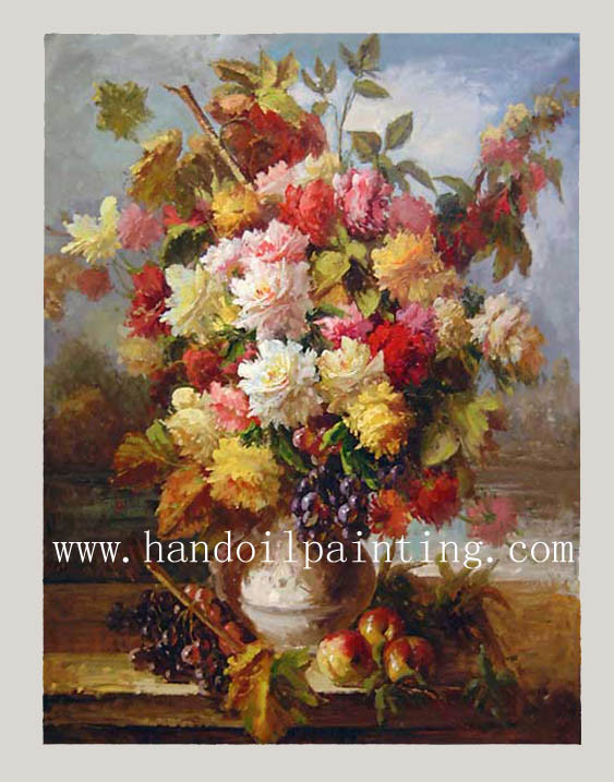China Oil Painting Flower