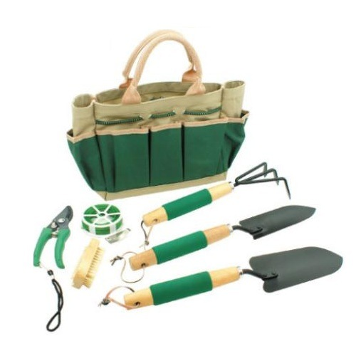 Environment Friendly Garden Hand Tools Set with Bag