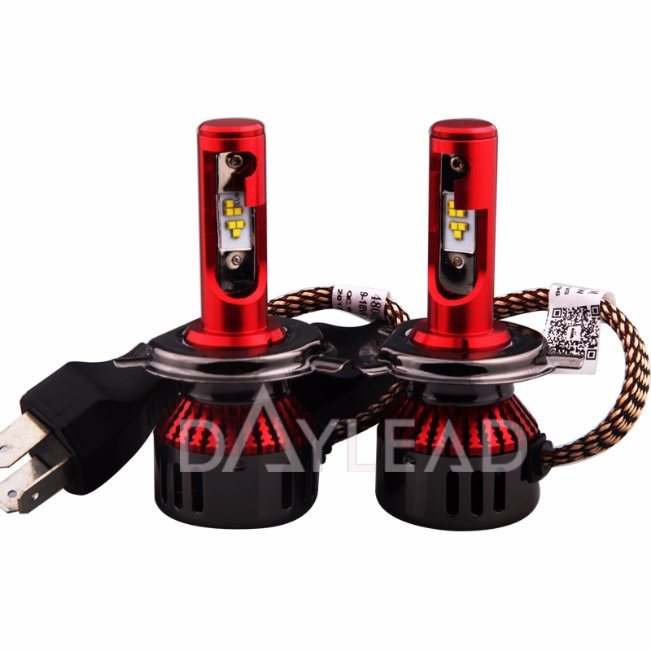 9600lm H4 High/Low Lamp Automobile Lighting LED Conversion Kit