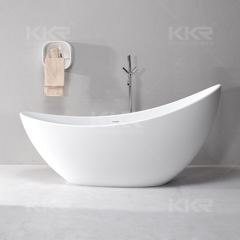 Kkr Wholesale Solid Surface Freestanding Bathtub