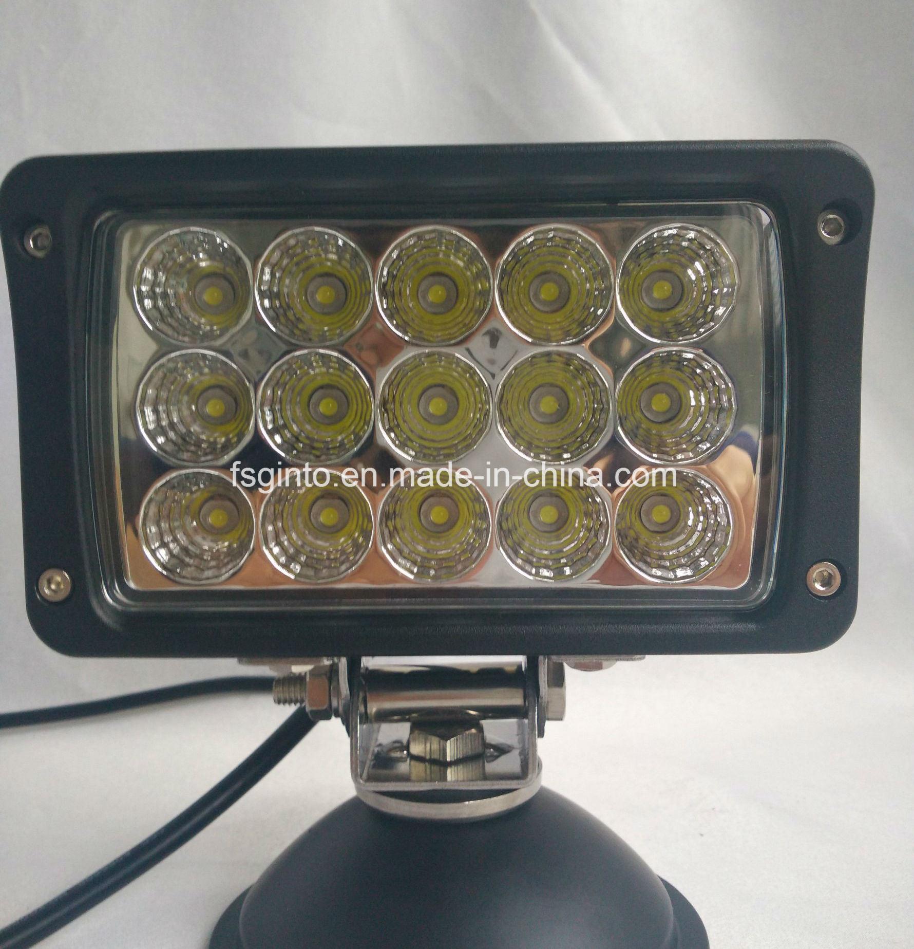 IP68 Waterproof 6′′ 45W Rectangular Tractor Truck LED Work Light (GT1020-45W)