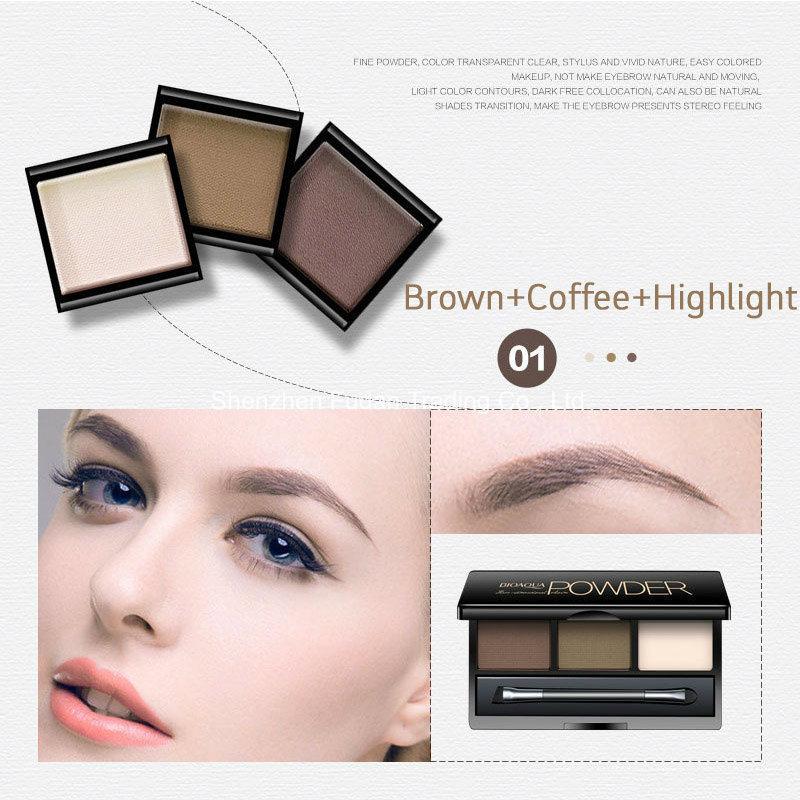 Cosmetics Eye Shadow Powder 3 Color Eyeshadow Palette