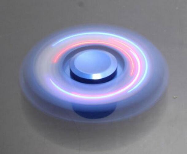 Custom Logo LED Light New Design Metal Fidget Spinner LED Hand Spinner