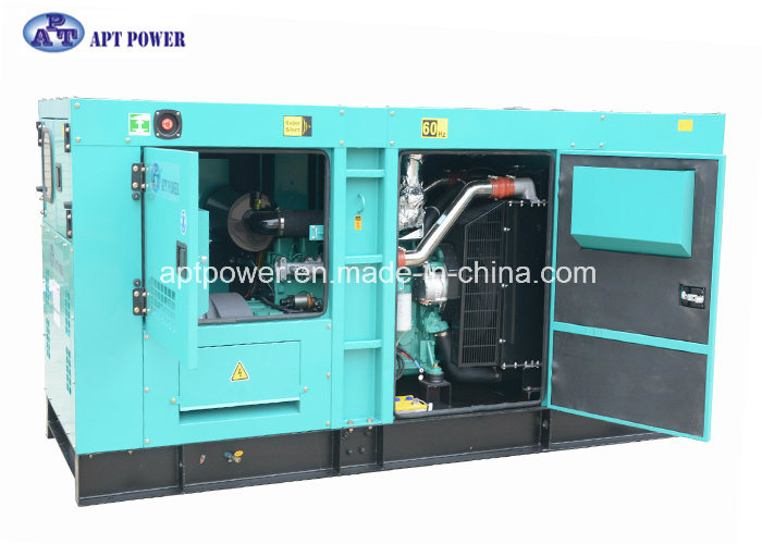 Water Cooled 3 Phase Soundproof Generator with Cummins Diesel Engine