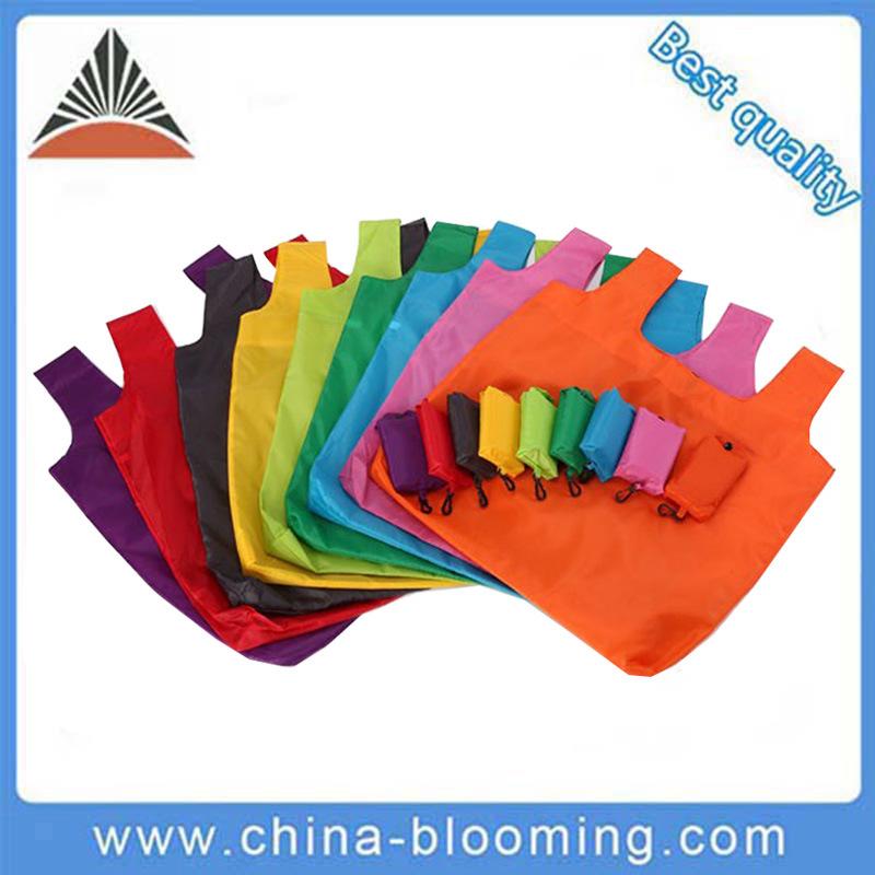 Promotional China Supplier Folding Nylon Foldable Shopping Bag