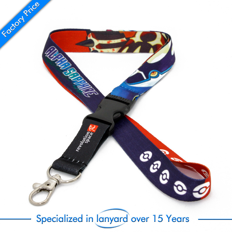 Cartoon Style Promotion Neck Lanyard