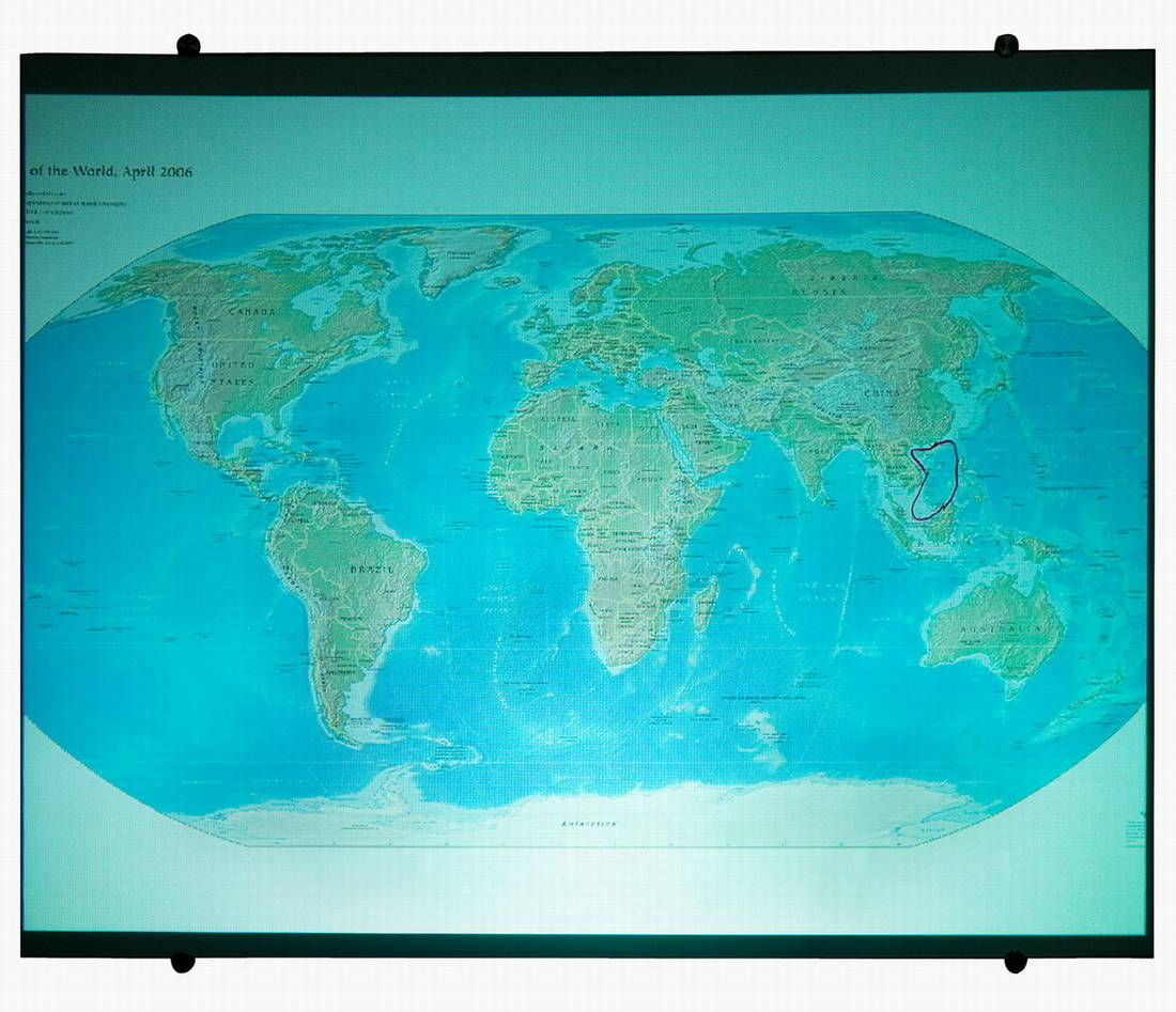 Interactive Magnetic Projection Screen