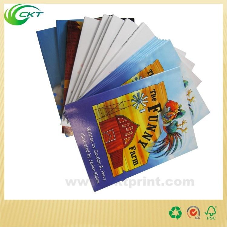 Bespoken Book Printing for Child Book, Comic Book, Catalogue (CKT-BK-408)