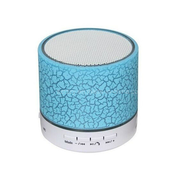 Mini Speaker Waterproof Wireless Bluetooth Speaker with LED Light