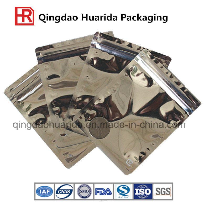 Customize Aluminum Foil T Shirts Packaging Bag