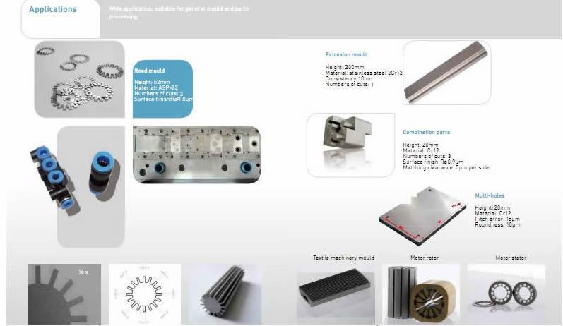 GF Agiecharmilles Wire Cut EDM Machine 1up