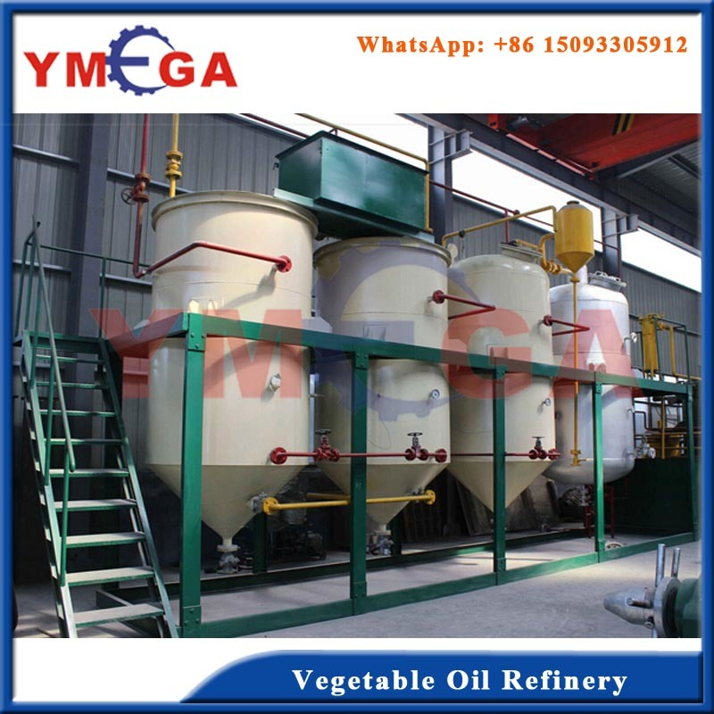 China High Grade Vegetable Mini Crude Oil Refinery Machine
