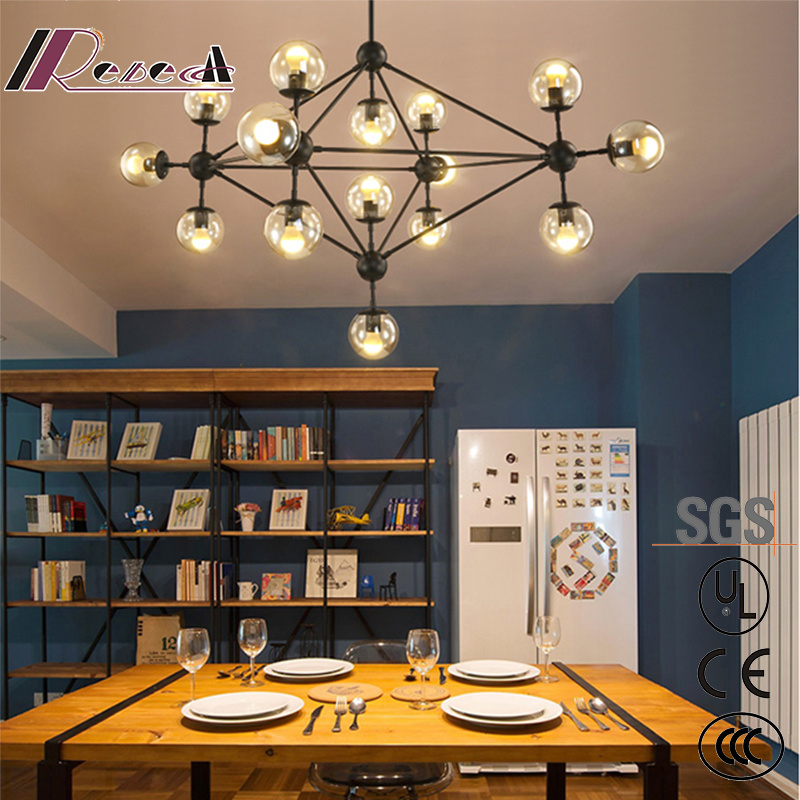 Modern Living Room Chandelier Store Ball Magic Bean Pendant Lamp