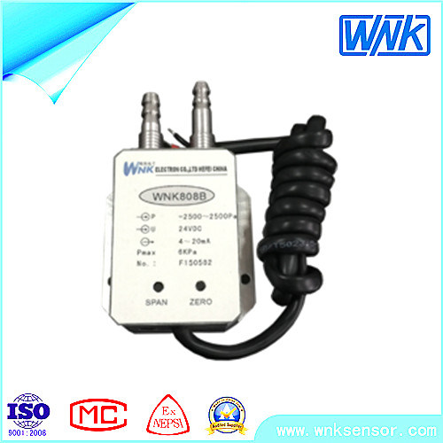 4-20mA Micro Wind Differential Pressure Transmitter for Gas, HVAC Application