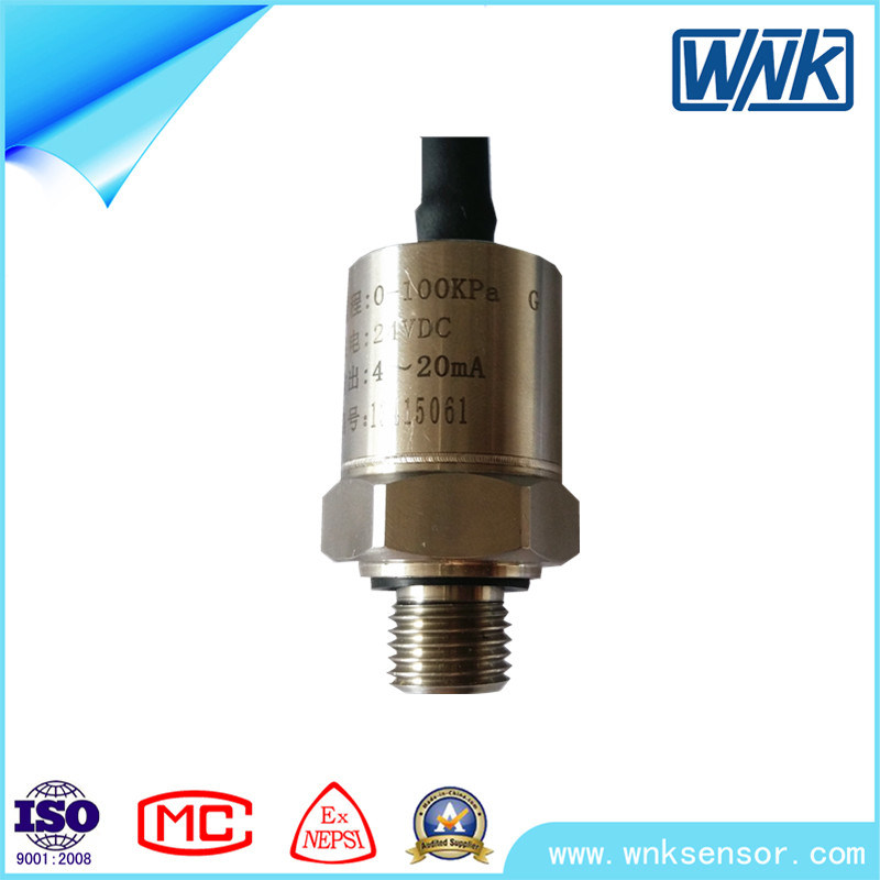 4~20mA/Spi/I2c/0.5-4.5V Air Water Digital Pressure Sensor Transducer for Air Conditioning/Pump/Compressor