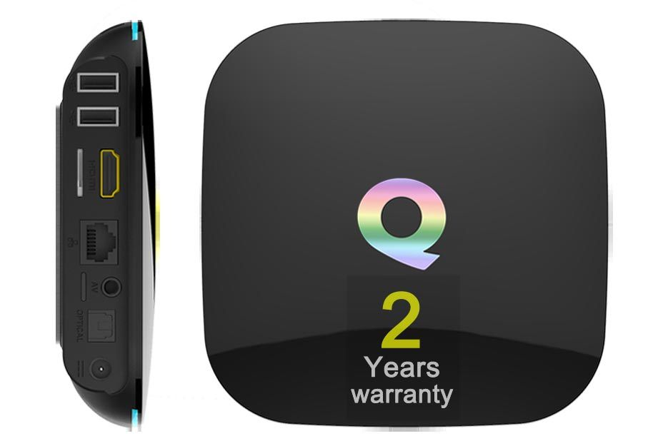 Custom Made Smart Android5.1/6.0 Marshmallow TV Box S905/S905X Quad Core Qbox-2GB/16GB