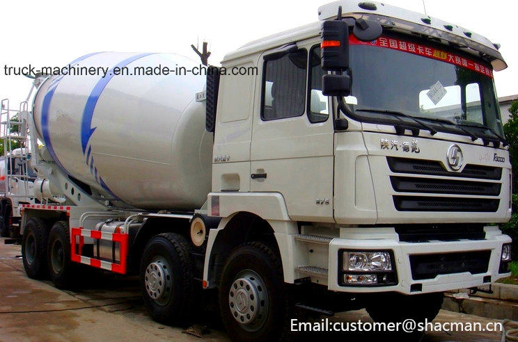 Shacman F3000 8X4 Mixer Truck Cummins Engine 385HP