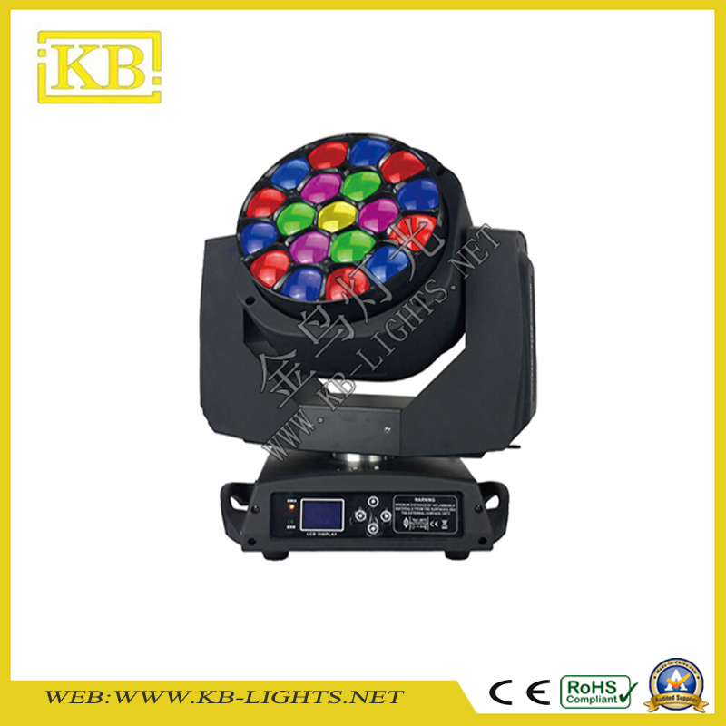 19PCS B-Eye Osram LED Moving Head Stage Lighting with Zoom