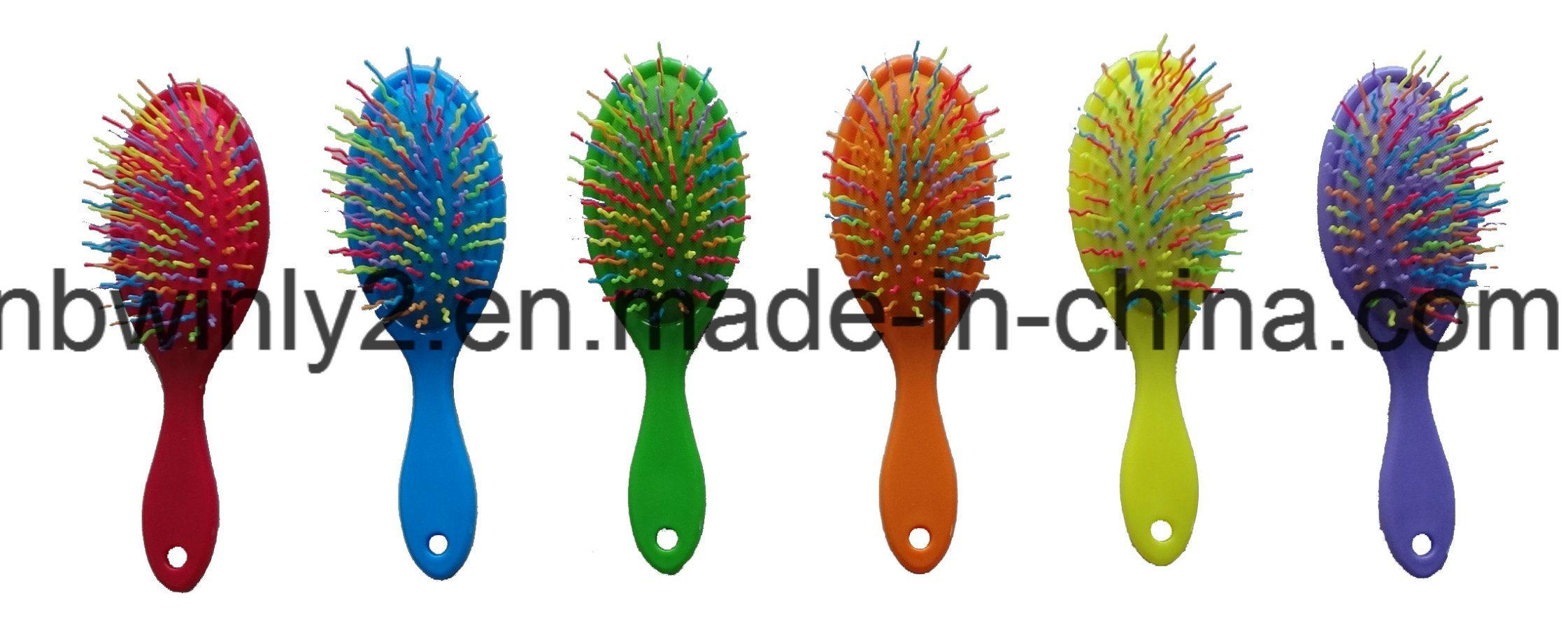 Soft Sticker for Logo on The Hair Brush