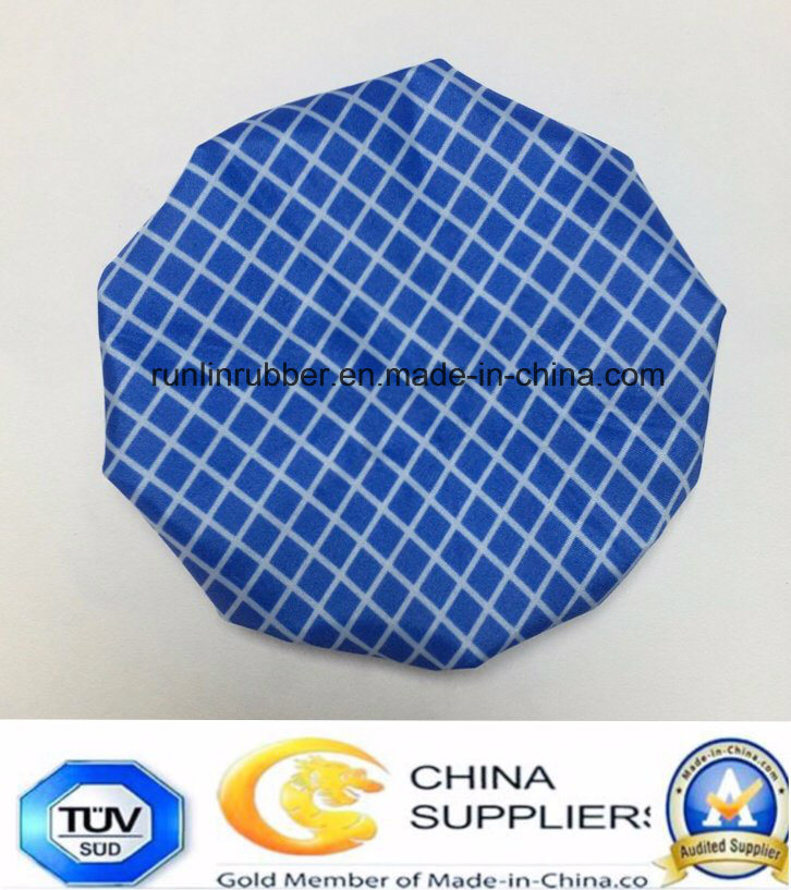 Solid Colour Fabric Ice Bag for Hot Cold Therapy