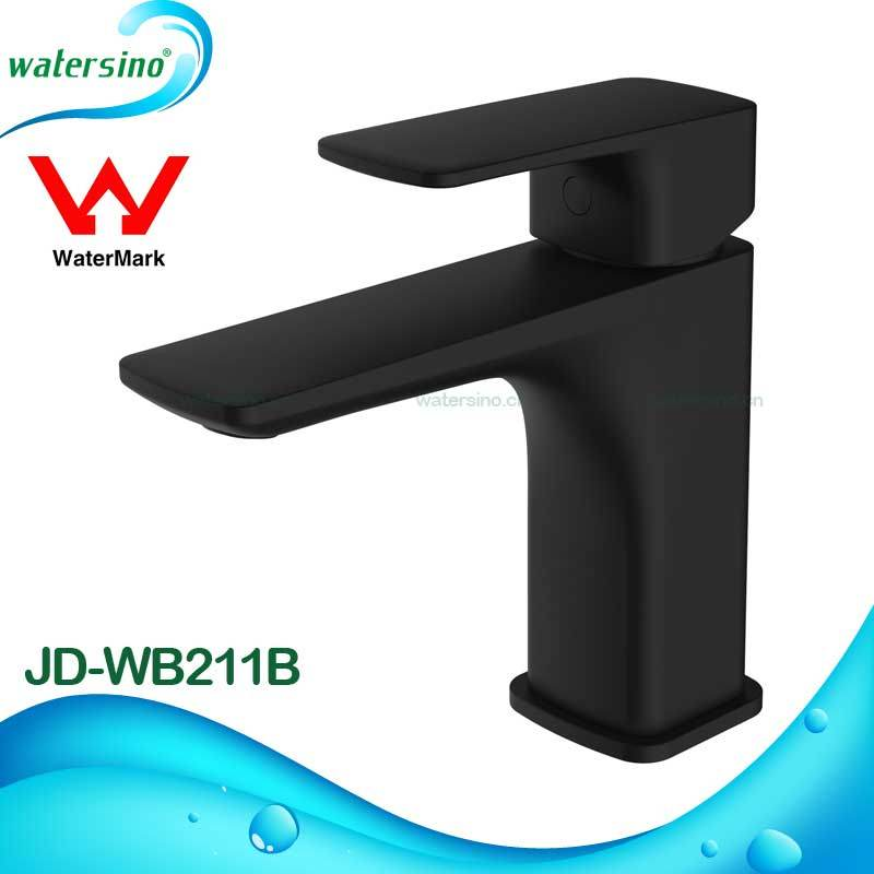 Matte Black Mixer Faucet with Black Electroplating for Basin Tap