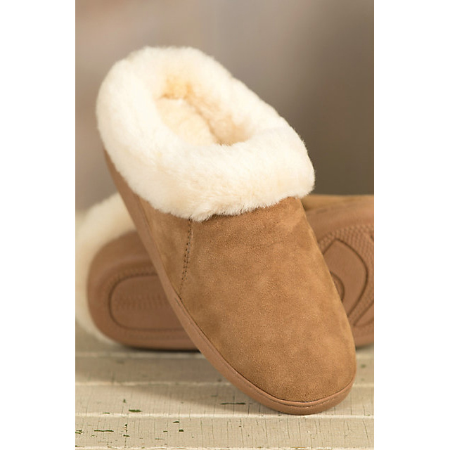 Women′s Emily Sheepskin Slipper Mule Slippers