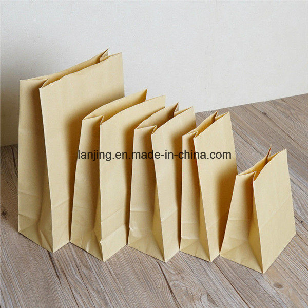 Kraft Paper Gift Wedding Party Brown Bags Craft Shopping Bag