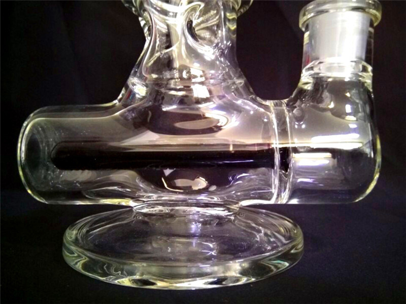 AA045 Wholesale Recycler Glass Smoking Pipe