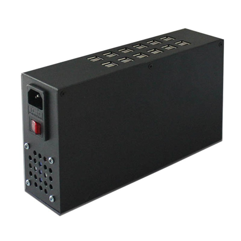 24 Ports 150W 30A 0.1A - 2.4A Rapid Multi Port USB Charger