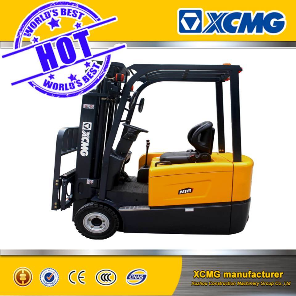 XCMG Brand 1-2 Ton AC Mini Powered Electric Forklift Truck