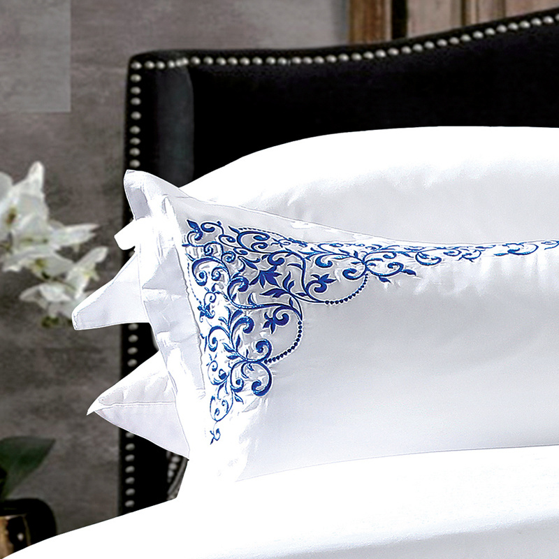 3 PCS Cheap 400t Bedding Linens for Cottage
