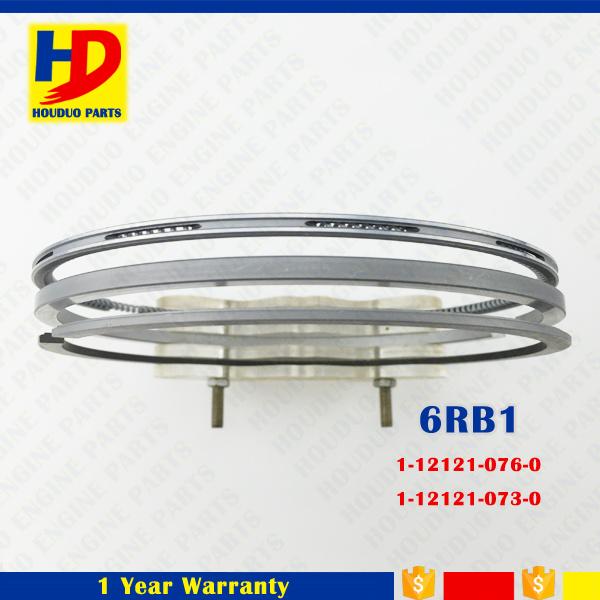 6rb1 Diesel Engine Piston Ring Kit for Isuzu Parts (1-12121-076-0 1-12121-073-0)
