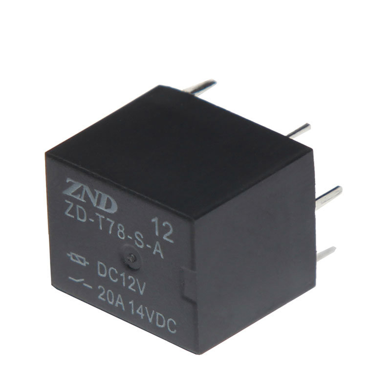 Automotive Realy T78 20A 4pins 12V Miniature Size