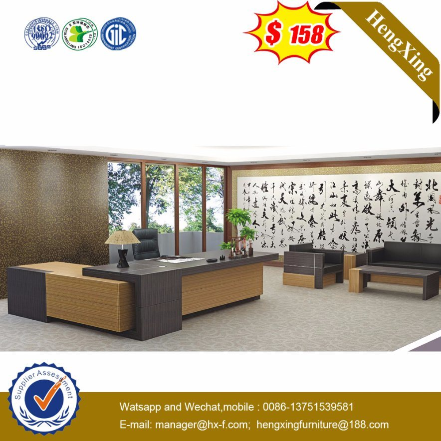 Wooden Office Furniture MDF CEO Executive Table (HX-NT3102)