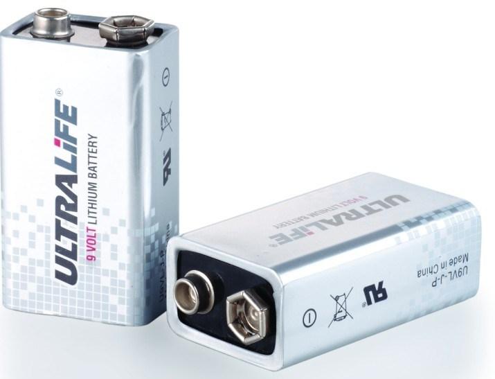 U9vl-J-P Ultralife 9V Smoke Detectors Battery