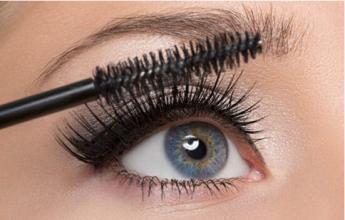 No-Blooming Lengthen and Curl Eyelashes Eye Black/ Mascara Cream