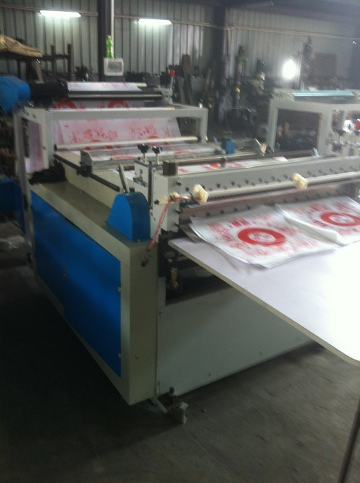 Economic Roll to Sheets Slitting Online Cross Cutting Machine (DC-H1000)