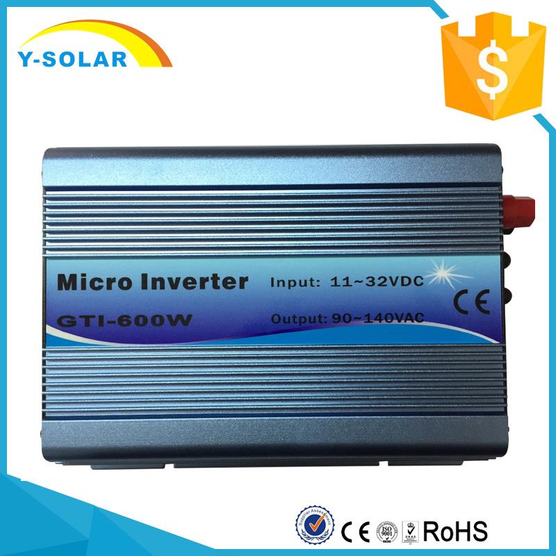 Gti-600W-18V-220V-B 11-32VDC Input 220VAC on Grid Tie Inverter Pure Inverter