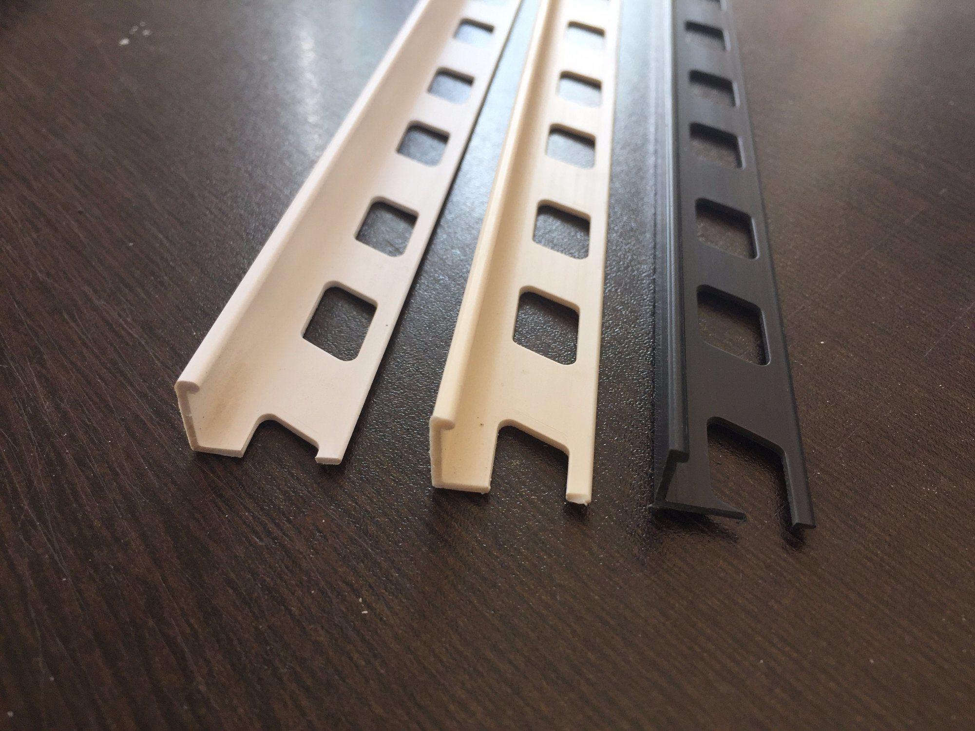 PVC Ceramic Tile Trim in 10mm Height