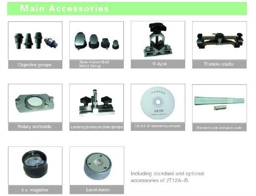 Digital Measuring Profile Projector (JT3-D JT3-C: 500mm, 200mm*100mm)