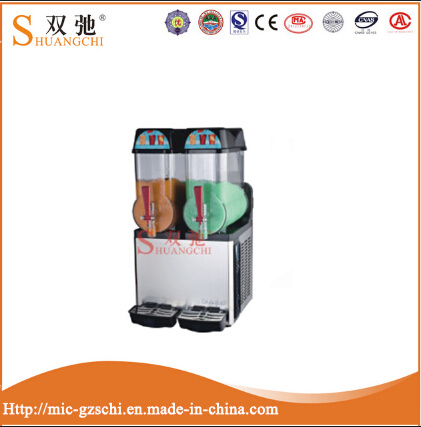 3 Cylinder Cold Fruit Juice Dispenser Slush Machine