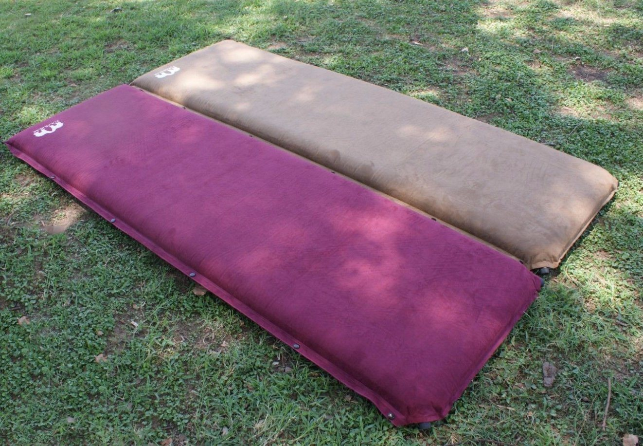 Self-Inflating Non-Slip Cozy Sude Camping Mattress